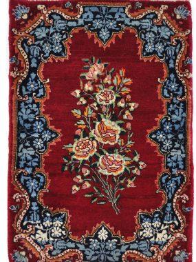 antiek handgeknoopt tapijt Kirman is verkrijgbaar bij Perez vloerkleden in Tilburg