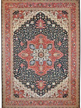 Uniek Heriz tapijt is verkrijgbaar bij Perez vloerkleden in Tilburg