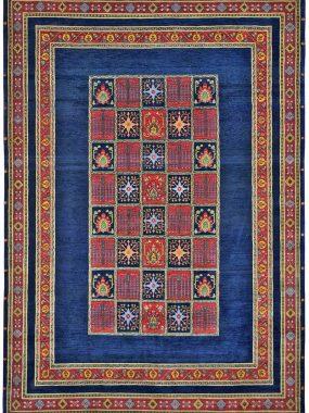 Luribf handgeknoopt tapijt is verkrijgbaar bij Perez vloerkleden