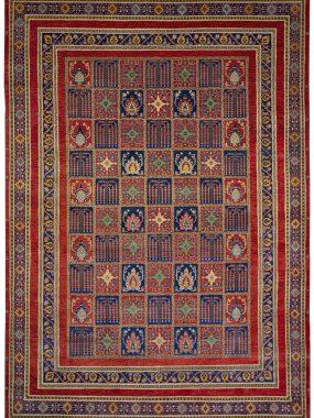 unieke handgeknoopt Luribaf tapijt is verkrijgbaar bij Perez vloerkleden.