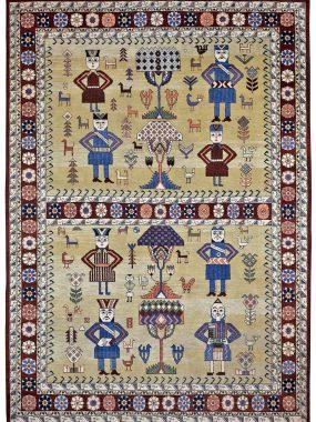 Uniek handgeknoopt tapijt is verkrijgbaar bij Perez Tilburg