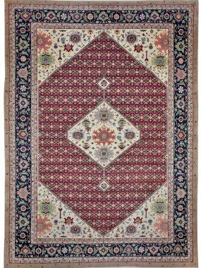 handgeknoopt tapijt Shenker is verkrijgbaar bij Perez vloerkleden