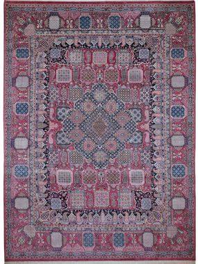 Handgeknoopt Meh Meh tapijt is verkrijgbaar in Tilburg