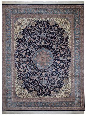 handgeknoopt tapijt Isfahan is verkrijgbaar bij Perez vloerkleden