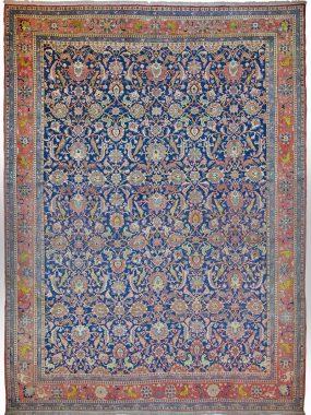 Handgeknoopt wollen Veramin tapijt is verkrijgbaar bij Perez vloerkleden