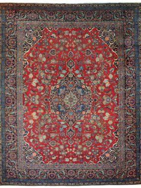 Handgeknoopt Kechan tapijt is verkriojgbaar bij Perez vloerkleden in Tilburg