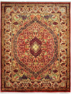 handgeknoopt Royal Kirman tapijt is verkrijgbaar bij {Perez vloerkleden in Tilburg