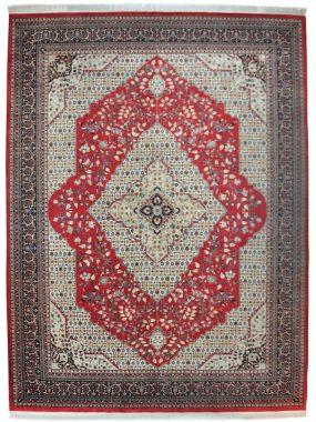 handgeknoopt vloerkleed Tabriz is verkrijgbaar bij Perez vloerkleden Tilburg