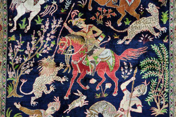 58 KESHAN ANTIEK Detail Paard