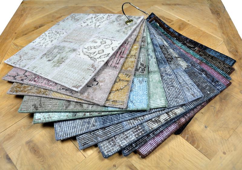 Vintage Patch tapijten verkrijgbaar bij Tilburg Tilburg