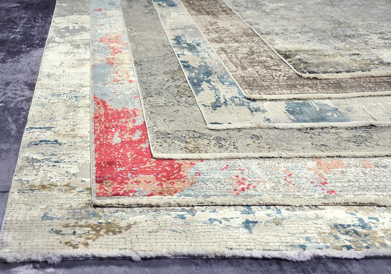 Vintage vloerkleed of tapijt uit collectie Olympia. past in vrijwel ieder interieur.