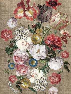 vloerkleed met bloemen is verkrijgbaar bij perez vloerkleden in Tilburg