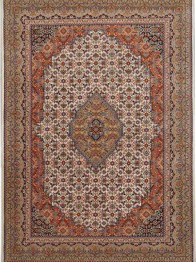 Bidjar tapijt rood beige is verkrijgbaar bij Perez vloerkleden